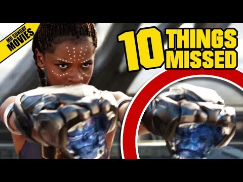 Easter Eggs and References in the First Teaser Trailer for Marvel s Black