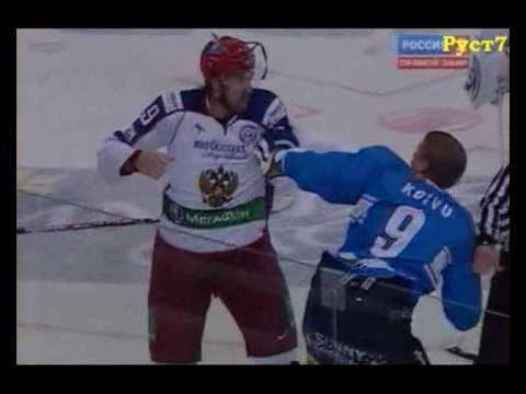 Самая жестокая драка в хоккее за всю