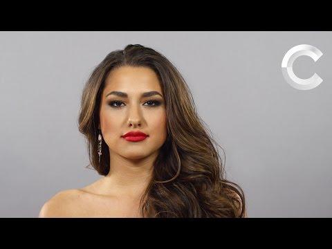Cien años de belleza mexicana en un minuto