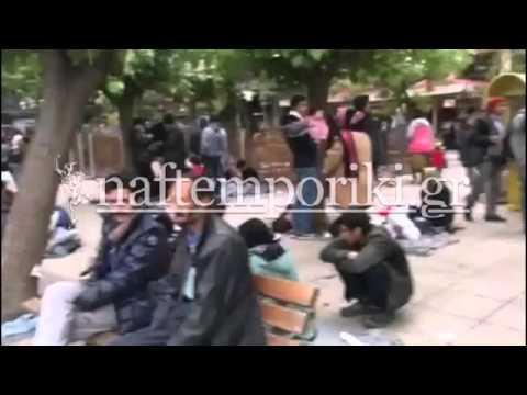 Καταφύγιο στην πλ. Βικτωρίας έχουν βρει πολλοί πρόσφυγες