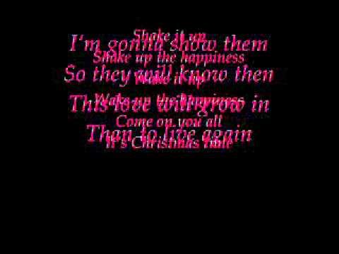 shake up happiness - Dieses Lied ist einfach ein weihnachtslied. Ich Liebe es (:
