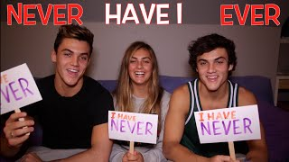 NEVER HAVE I EVER ft. Our Sister // Dolan Twins