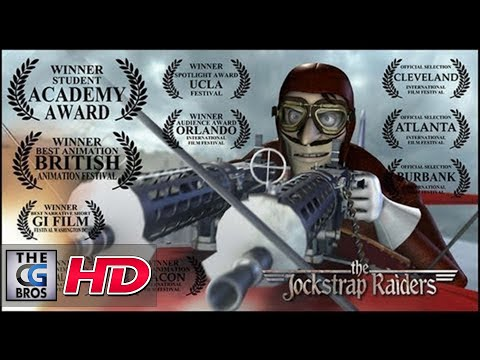 "CGI **Award-Winning** 3D Animated Short : ""The JockStrap Raiders"" - by Mark Nelson 