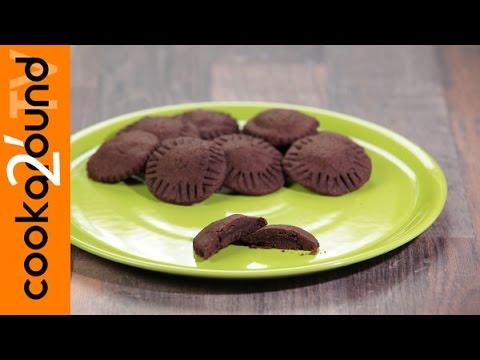 biscotti ripieni al cioccolato - ricetta facile