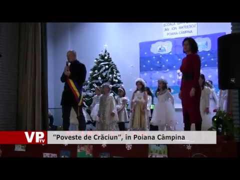 """""""Poveste de Crăciun"""", în Poiana Câmpina"""