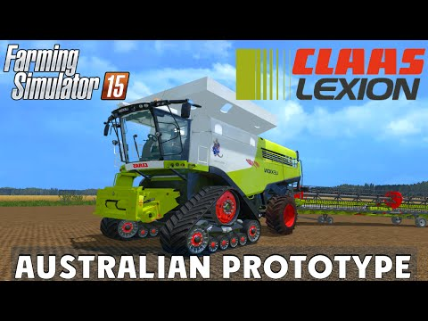 Claas Lexion Australian Prototyp 10x80 v1.0