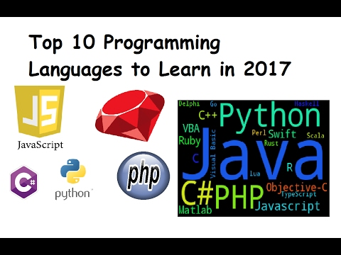 Top 10 Programming Languages to Learn 2017 | Most Popular Programming language.