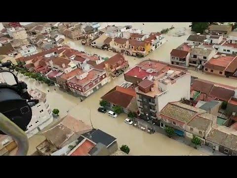 Ισπανία: Πέντε νεκροί σε πλημμύρες στα νοτιοανατολικά