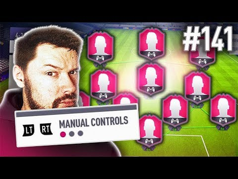 MANUAL CONTROLS ONLY! - FIFA 18 Ultimate Team Draft #141