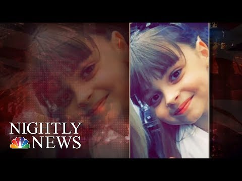 Manchester In Mourning: Bombing Victims Remembered   NBC Nightly News (видео)