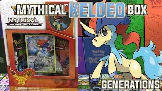 Pokémon Cards - Mythical Keldeo 20th Anniversary Collection Box Opening!  | Generations by The Pokémon Evolutionaries