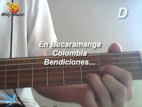 "Tutorial Dios Háblame ""BaraK"" Acordes para Guitarra"