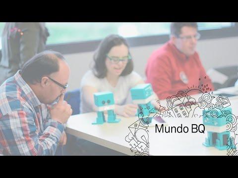 Taller de robótica en la Fundación Síndrome de Down de Madrid