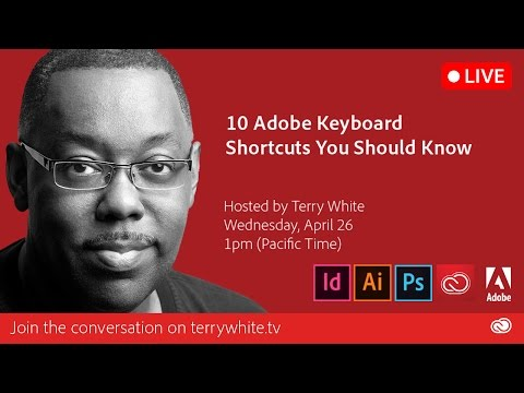 10 Adobe Keyboard Shortcuts You Should Know