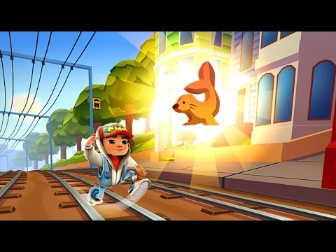 Subway Surfers SAN FRANCISCO iPad Gameplay #2 (видео)