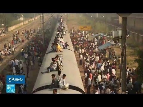 العرب اليوم - 23 مليون طلب توظيف في شركة السكك الحديدية الهندية