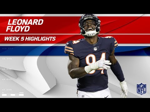 Video: Leonard Floyd's 2 Sacks w/ Safety!