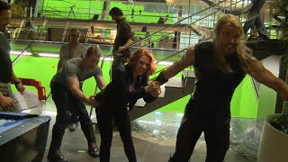 Marvel's Avengers Age of Ultron: Fun Behind the Scenes Look at the Actors' Relationship full download video download mp3 download music download