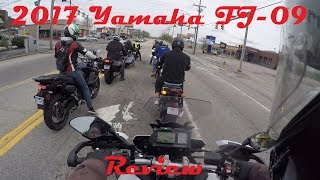 8. 2017 Yamaha FJ 09 Review
