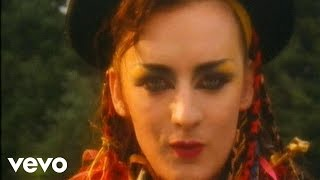 Read and translate Culture Club - Karma Chameleon lyrics. | Dessert loving in your eyes all the way