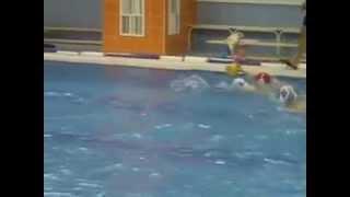 Тренировка по водному поло (видео №3)