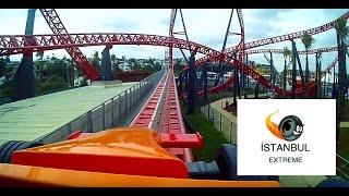 bugatti hizinda roller coaster viasea  red fire tuzla