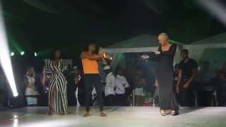 AMBER ROSE DANCES SHOKI