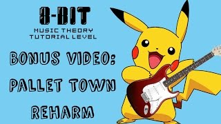 """I wrote a reharm of Pokemon's Pallett Town theme to play during the ending of my """"5 Tips for Jazz Reharmonization from Pokemon Sun and Moon"""" video. My next upload's taking a little longer than anticipated so I thought I'd share this with you guys in the meantime. Enjoy!Watch the original video here: https://www.youtube.com/watch?v=Bqc0pyUcRy0Follow me on twitter: https://twitter.com/8bitMusicTheory"""