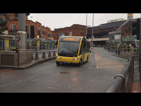 Buses In Liverpool - Queen Square Bus Station 17/12/2014