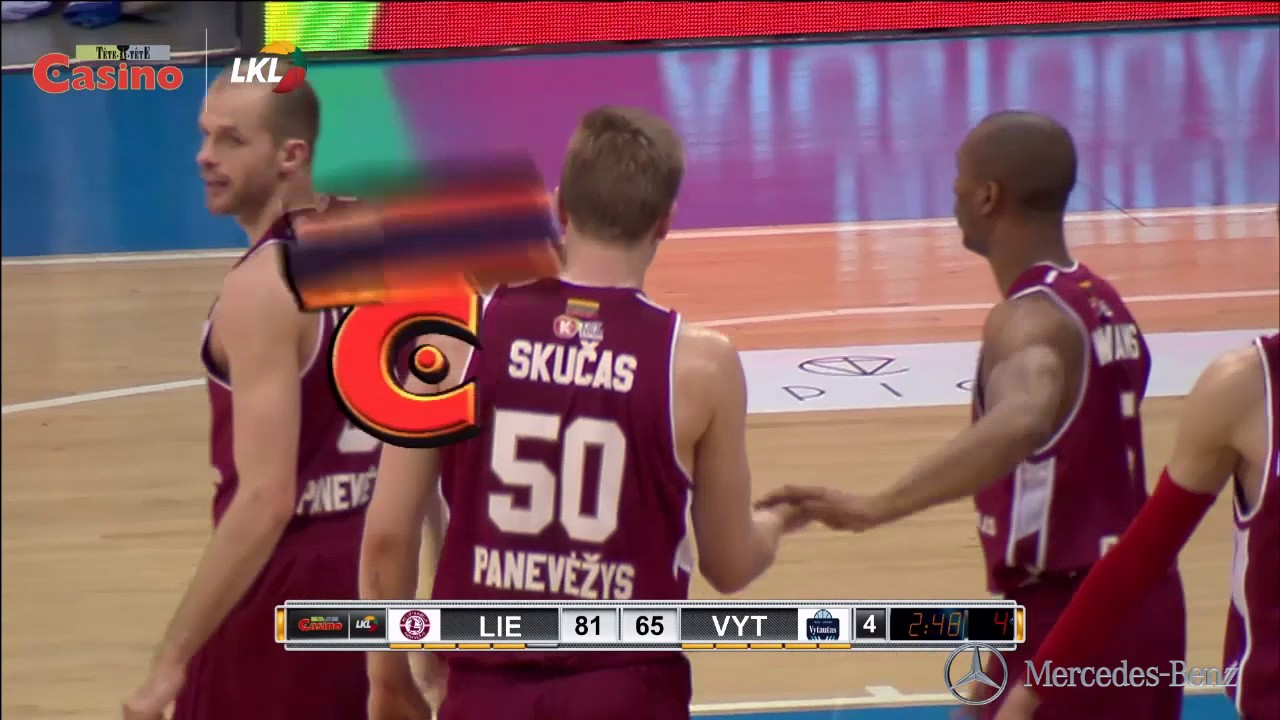 Rungtynių momentas: efektingas Ž.Skučo blokas