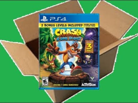 Crash Bandicoot N. Sane Trilogy [2 Bonus Levels] [PS4] (Unboxing/Breakdown/Demo)