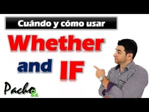 Estas son las diferencias entre IF y WHETHER - Aprende cuándo y cómo usarlas