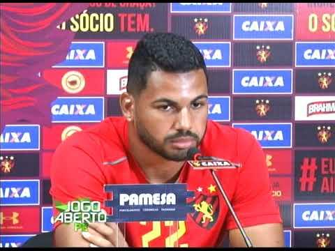 [JOGO ABERTO PE] Sport: Carlos Henrique espera manter a titularidade