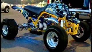 7. San Diego Chargers Yamaha Banshee