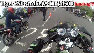 Video Tiger250cc Stroke Vs Ninja150std 😂 Fundrag!!! kalah gak malu menang gak bangga MP3, 3GP, MP4, WEBM, AVI, FLV Januari 2019