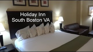 South Boston (VA) United States  city photo : It's Hotel Tour Time! Holiday Inn South Boston VA