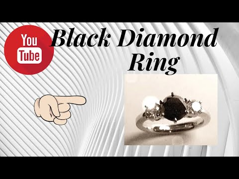 Black Diamond, Platinum Ring