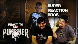 image of SUPER REACTION BROS REACT & REVIEW The Punisher Official Netflix Trailer!!!!