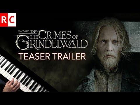 Crimes of Grindelwald Teaser Trailer (Piano Cover) Fantastic Beasts