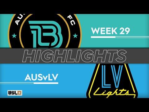 Austin Bold - Las Vegas Lights 4:1. Видеообзор матча 23.09.2019. Видео голов и опасных моментов игры