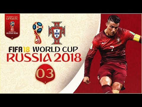 FIFA 18 World Cup - PORTUGAL AT RUSSIA 2018 - WORLD CUP FINAL vs SPAIN!! [Legendary With Sliders] (видео)