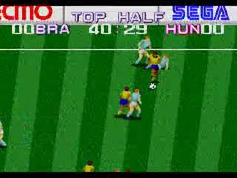 tecmo world cup 92 megadrive