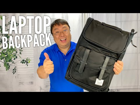 Water Resistant School Laptop Backpack by Vaschy Review