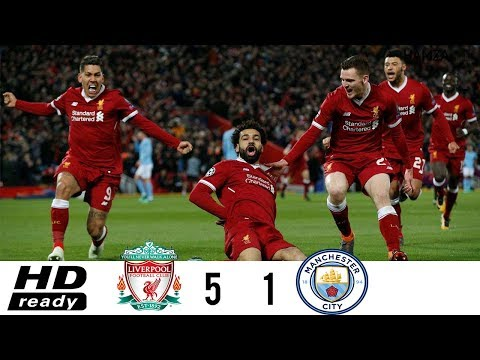 Liverpool VS Man City 5-1 Highlights| Quarter Finals| Both Legs HD