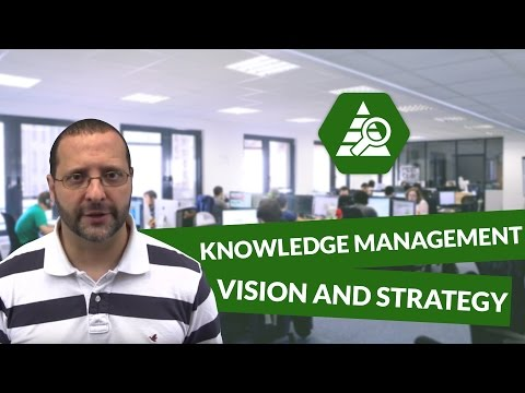 STRATEGIC Dimensions of Knowledge Management  Vision and Strategy – Innovation and Marketing