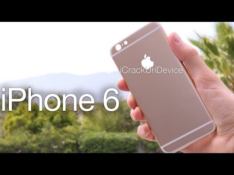 NEW iPhone 6 Leaked Housing - Unboxing