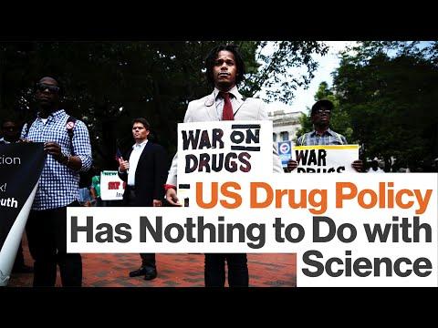 US Anti-Drug Laws Aren