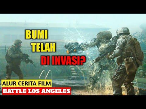 ADU KUAT TENTARA AMERIKA VS ALIEN!   Alur Cerita Film - BATTLE LOS ANGELES (2011)   INDONESIA