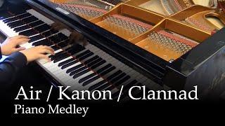 Video Air (TV), Kanon (2006), Clannad After Story - Piano Medley MP3, 3GP, MP4, WEBM, AVI, FLV Juli 2018