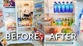 CLEAN & ORGANIZE MY FRIDGE WITH ME | Spring Cleaning 2020 by ThatsHeart